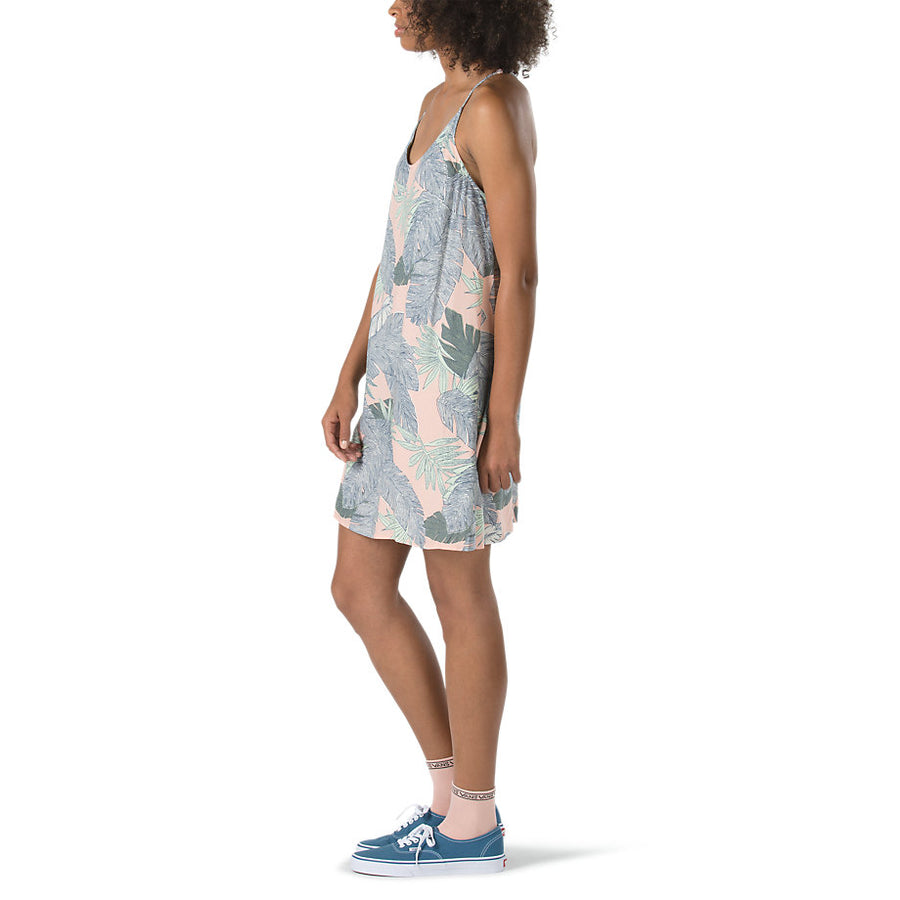 Vans Maria Dress - Evening Sand Palm Fronds