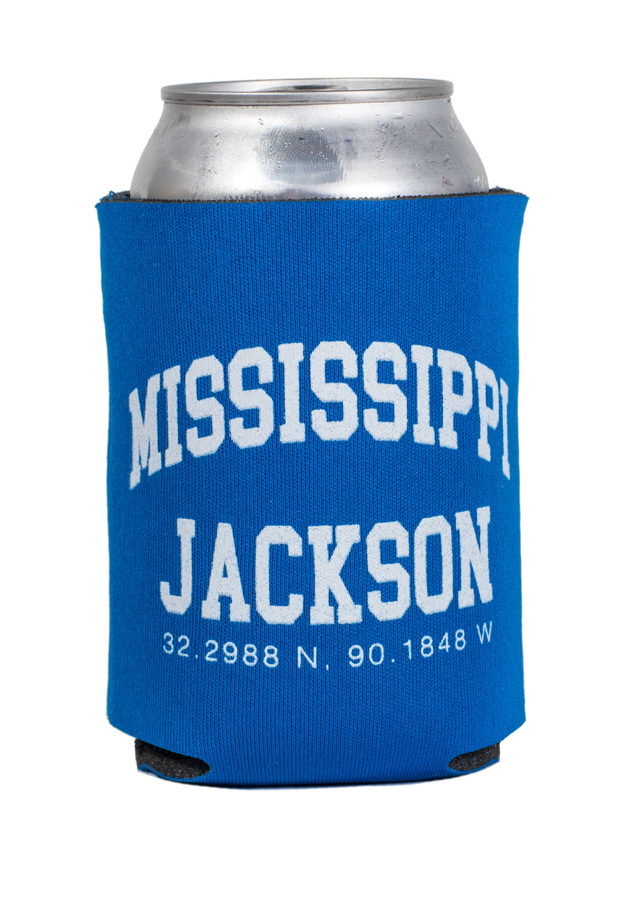 Mississippi Jackson Coordinates Drink Holder