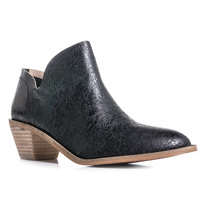 Kelsi Dagger Kenmare Bootie - Crackle Nappa Leather