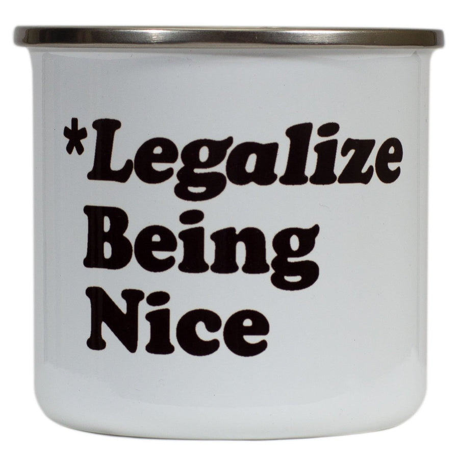 Legalize Being Nice Mug