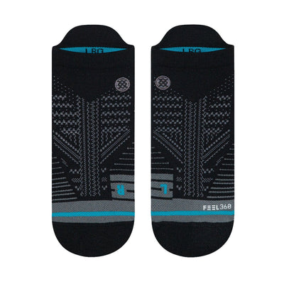 Stance Uncommon Train Tab Socks - Black