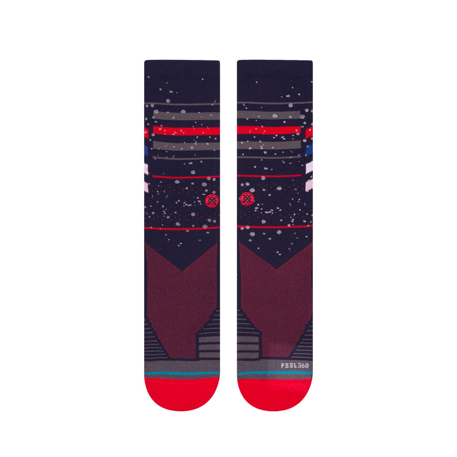 Stance Particles Crew Socks - Navy