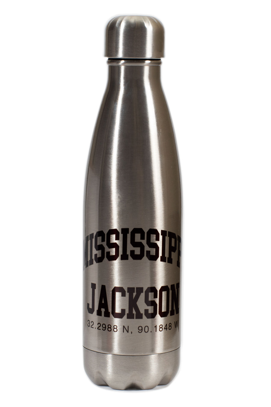 30.2988 N, 90.1848 W - JACKSON COORDINATES Water Bottle