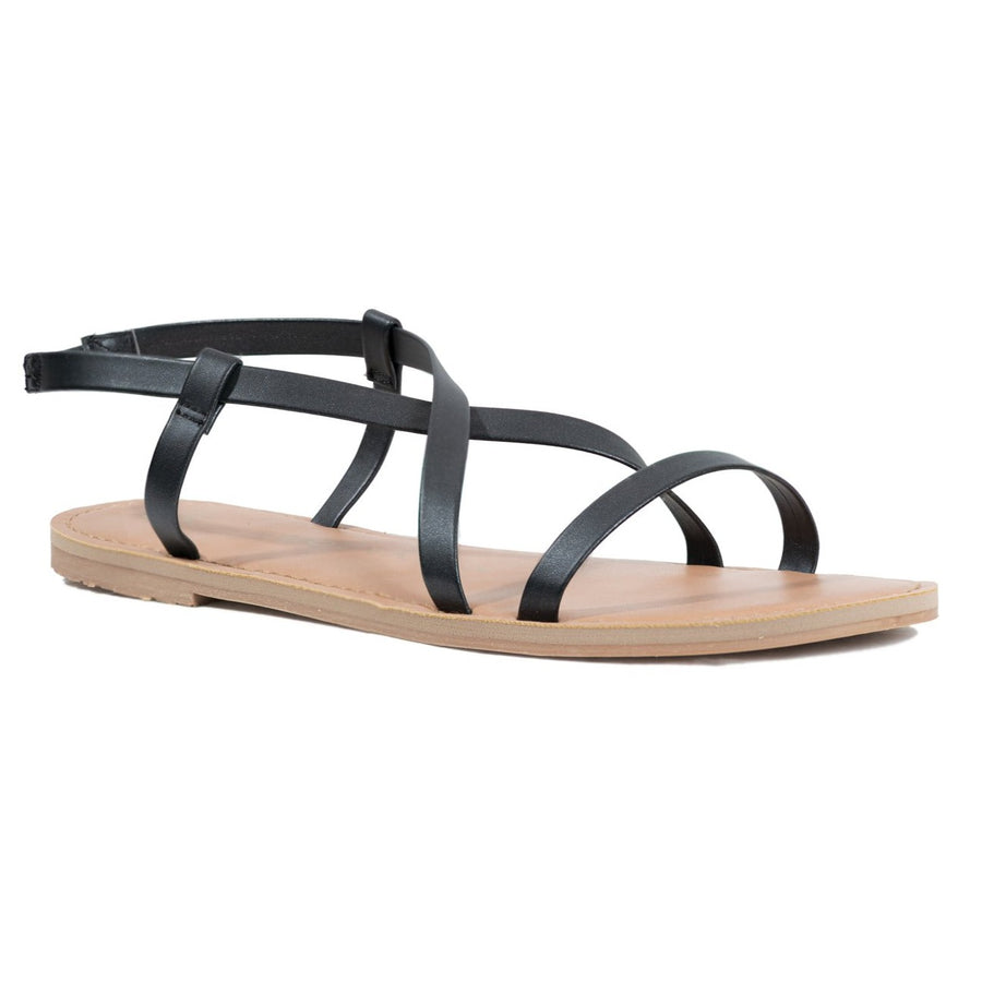 Malvados Icon Alanis Sandals - Black