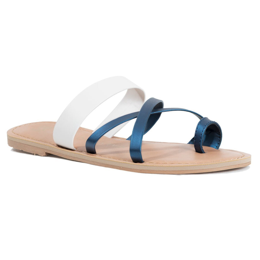 Malvados Icon Joni Sandals - Midnight/Ice