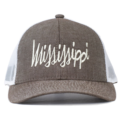 Mississippi Cursive - Embroidered Hat