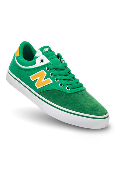 New Balance Numeric 255 - Green with Yellow (OAK)