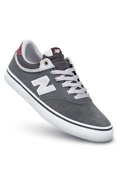 New Balance Numeric 255 - Grey with Burgundy (MTB)