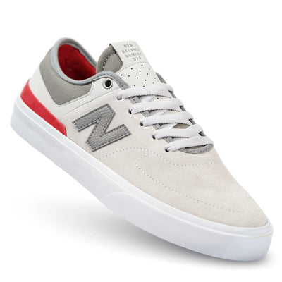 New Balance Numeric 379 - Grey with Red & White (GRE)