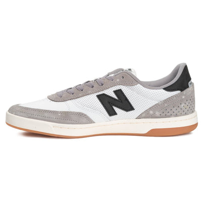 New Balance Numeric 440  - Munsell White with Grey (GRW)