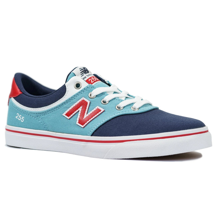New Balance Numeric Kids 255 - Blue/Red/White (BBS)