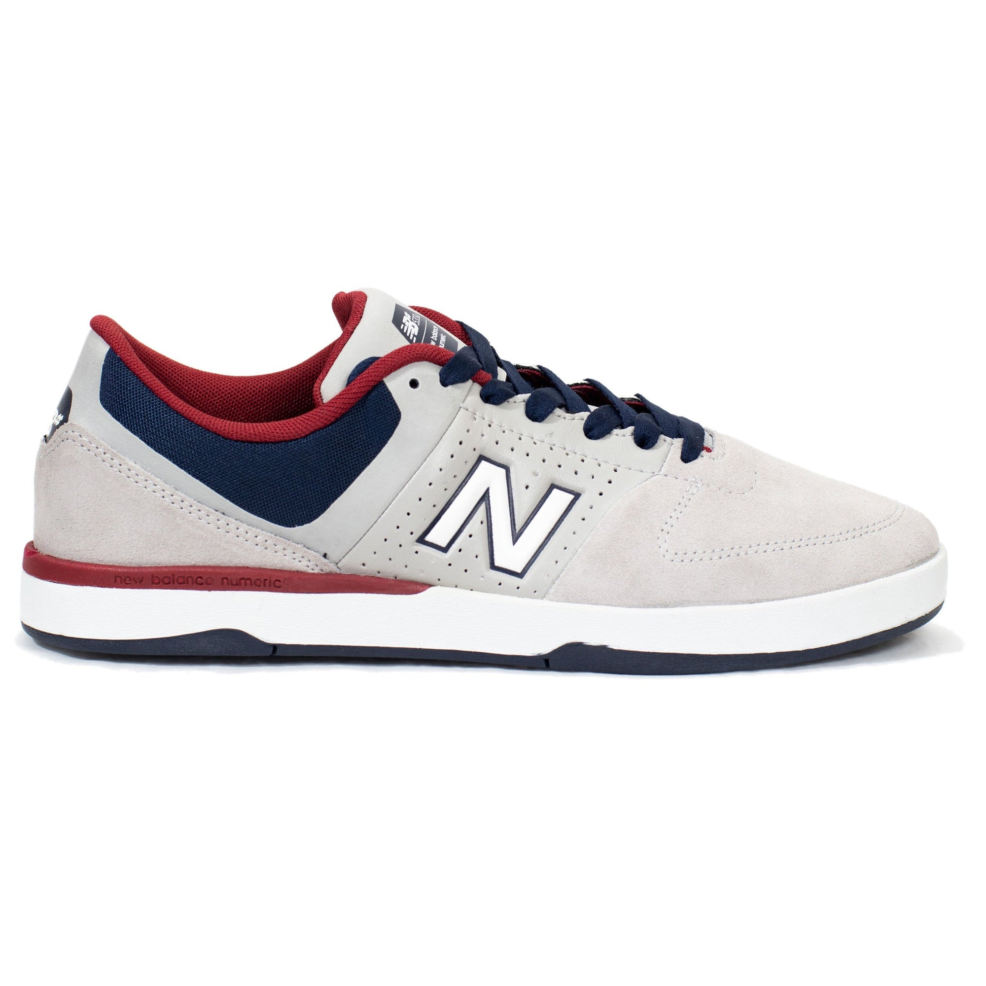 cdf502316c3b New Balance Numeric PJ Stratford 533 v2 - Grey Blue Red (SS2) - Chane