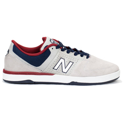 New Balance Numeric PJ Stratford 533 v2 - Grey/Blue/Red (SS2)