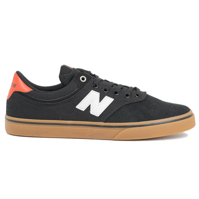 New Balance Numeric 255 - Black with White (BPB)