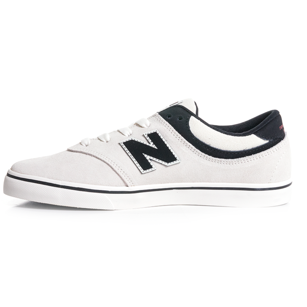 6e2d69b8f9a New Balance Numeric Quincy 254 - Sea Salt with Black (SRB) - Chane