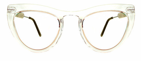 Spitfire Outward Urge Sunglasses - Clear/Gold/Black