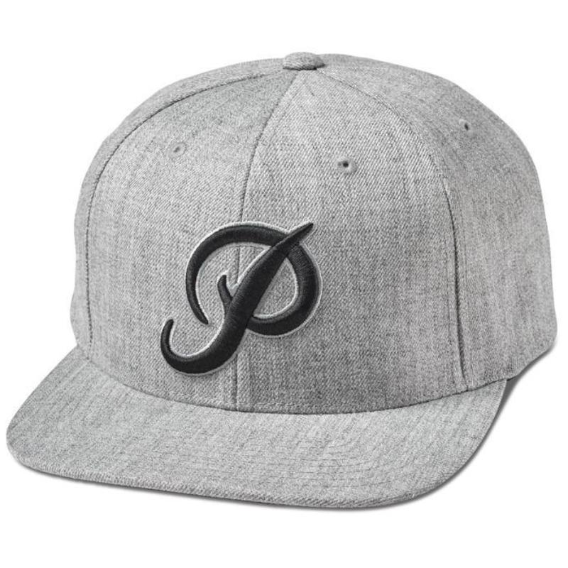 Primitive Classic P Snapback - Heather Grey