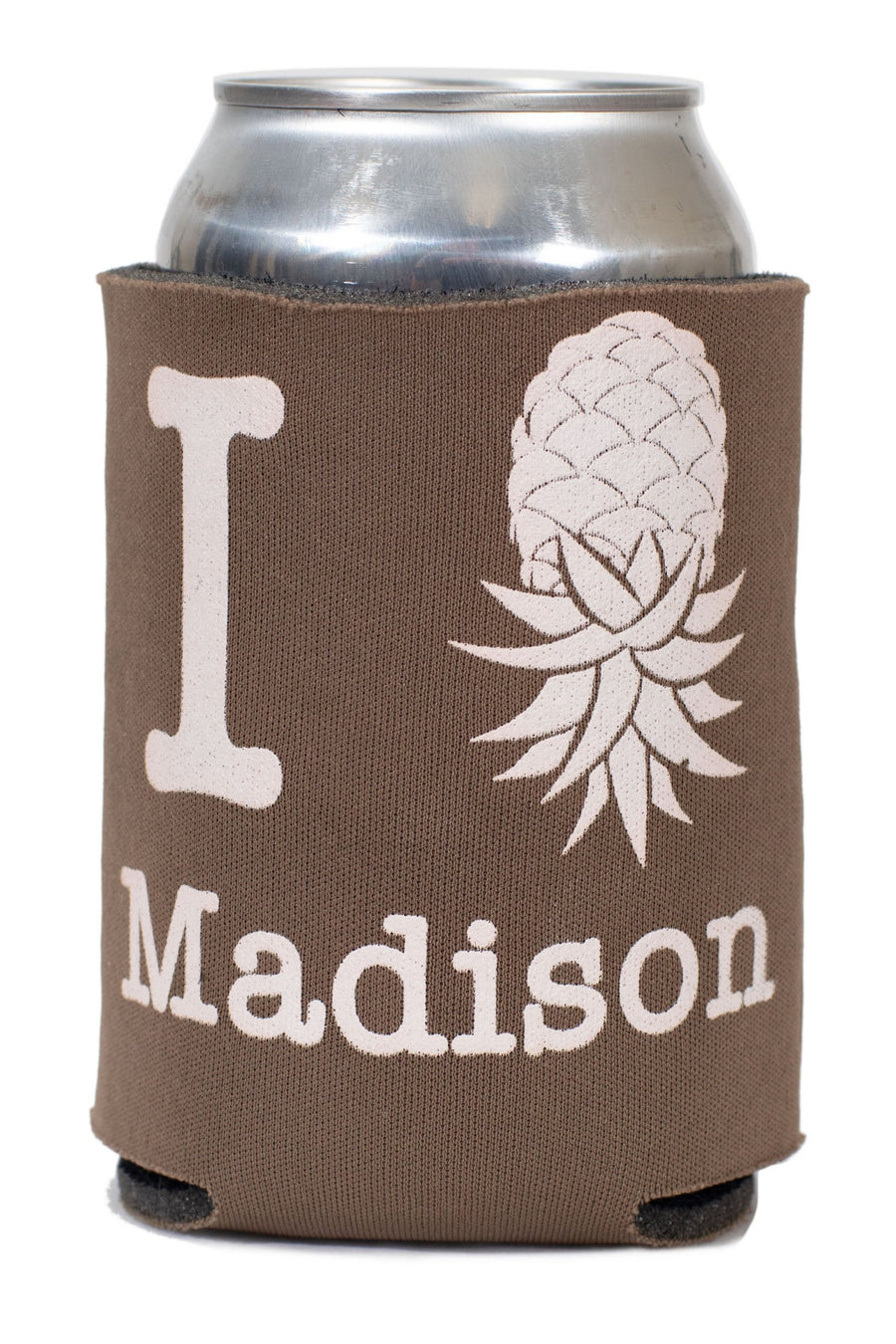 I Pineapple Madison Koozie 1