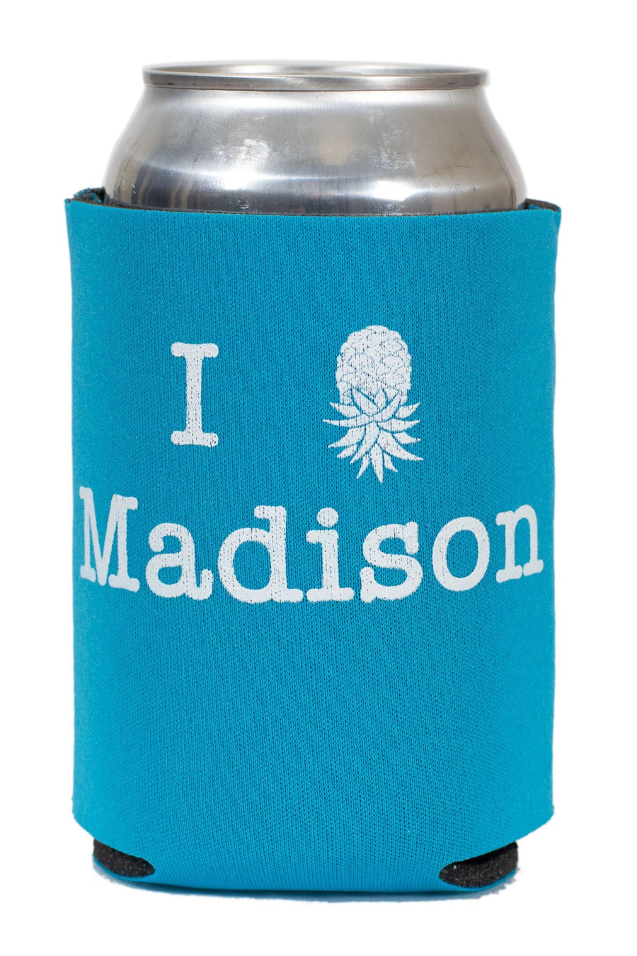 I Pineapple Madison Koozie 2