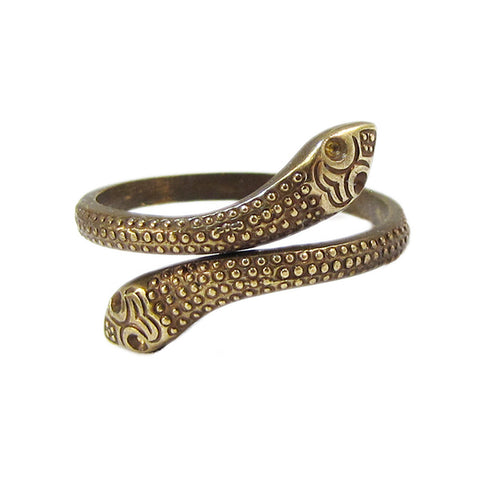 Ornamental Things Snake Ring