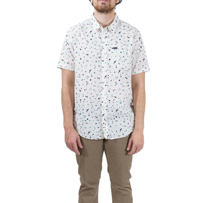 RVCA Calico Button-Up Shirt - Antique White (ANW)