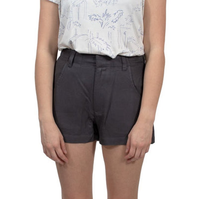 RVCA Caught Up High Rise Woven Short - Iron