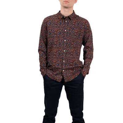 RVCA Costello Floral Long Sleeve Shirt - Floral (FLR)