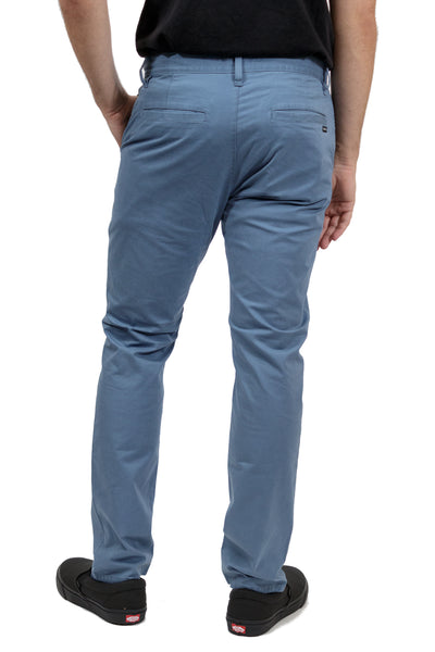 RVCA Daggers Slim-Straight Chino Pants - China Blue (CNB)