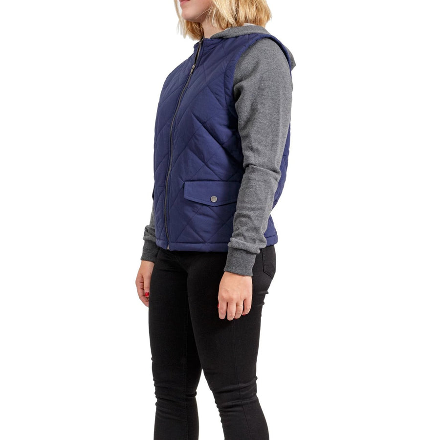 RVCA Joyride Zip Fleece Jacket - Navy