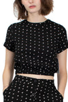 RVCA Kudos Printed Crop Top