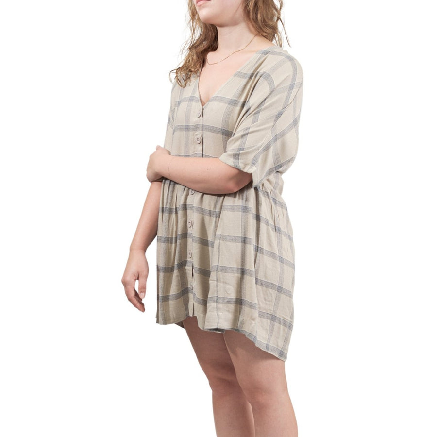 RVCA Mysterious Dress - Oatmeal (OAT)