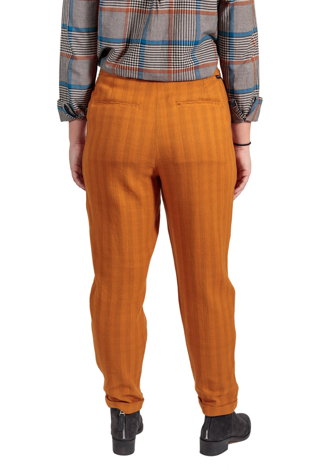 RVCA Scout Striped Trousers - Cathay Spice