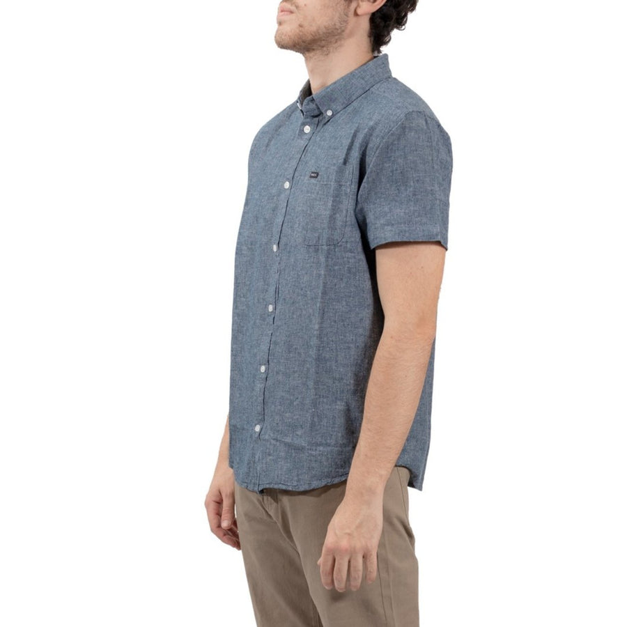 RVCA That'll Do Hi Grade Short Sleeve Shirt - Indigo