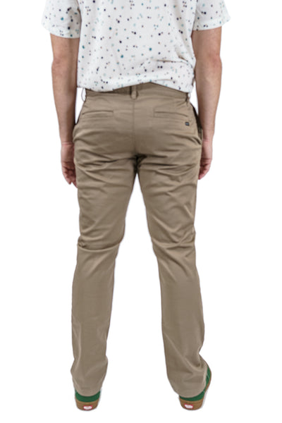 RVCA Weekend Stretch Pant - Dark Khaki