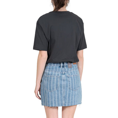 RVCA Sienna Skirt - Blue Stripe (BES)