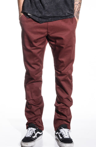 RVCA Week-End Pant - Red Earth