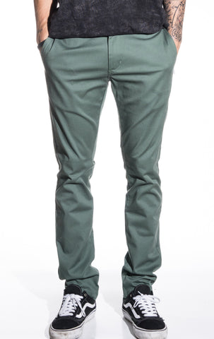 RVCA Stapler Twill Chino Pant - Duck Green