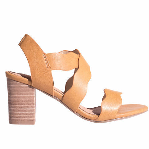 Restricted Kailani Heel -Tan