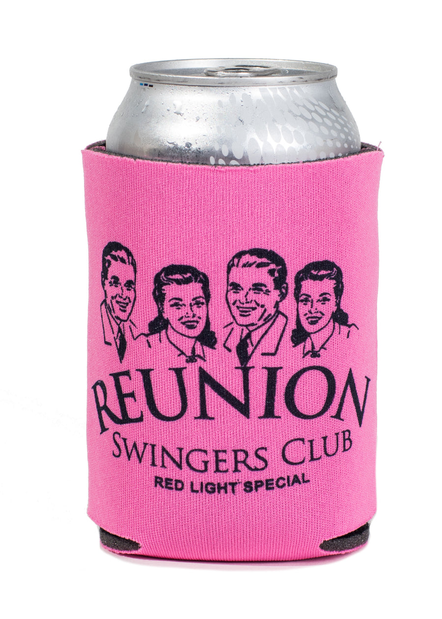 Reunion Swingers Club Koozie