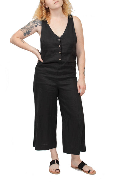 Rhythm Amalfi Jumpsuit - Black