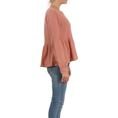 Rhythm Camille Long Sleeve Top - Sunburn