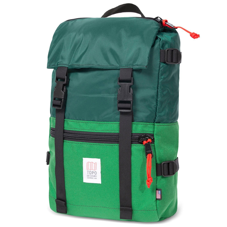 Topo Designs Rover Pack - Forest/Kelly
