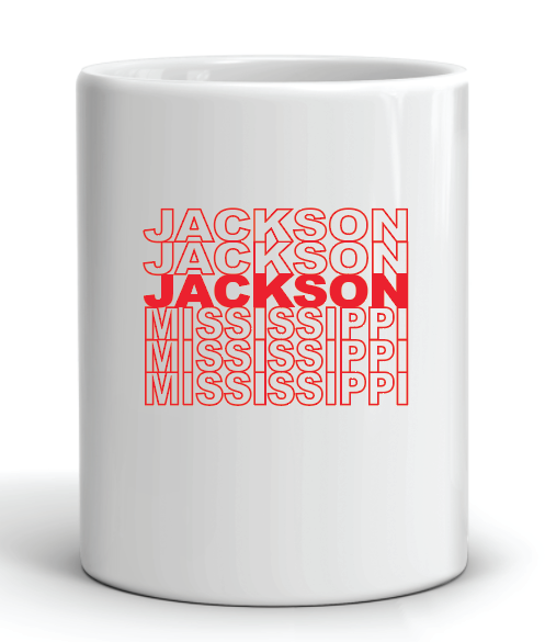 Thank You Bag Jackson Mug