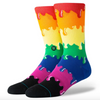 Stance Drip Rainbow Socks
