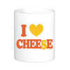 I Heart Cheese Mug