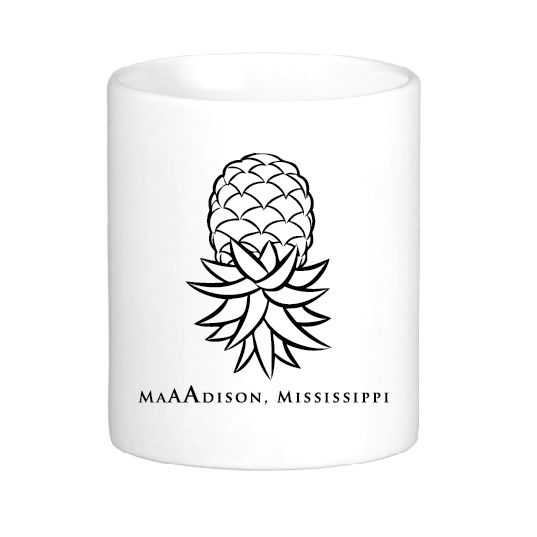 Madison Pineapple Mug