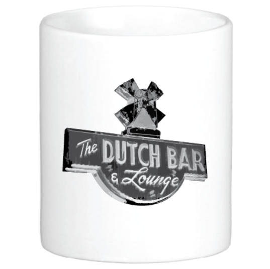Sid's Dutch Bar Sign Mug