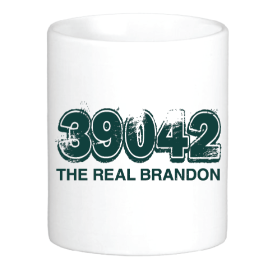 39042: The REAL Brandon Mug