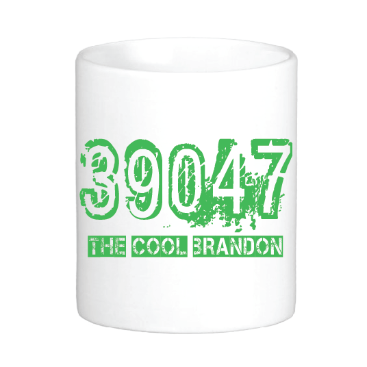 39047: The Cool Brandon Mug