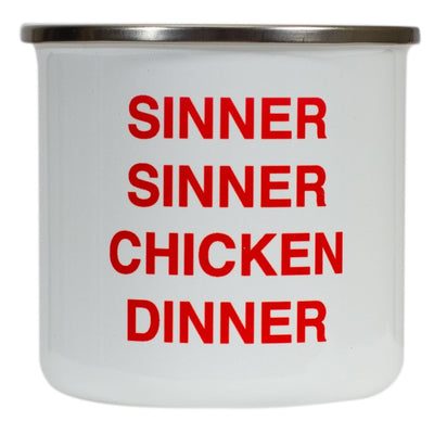 Sinner Sinner Chicken Dinner Mug